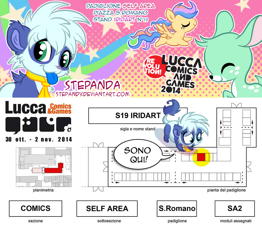 Mappa Lucca 2014 by StePandy