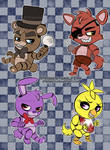 Chibi Five Nights At Freddys