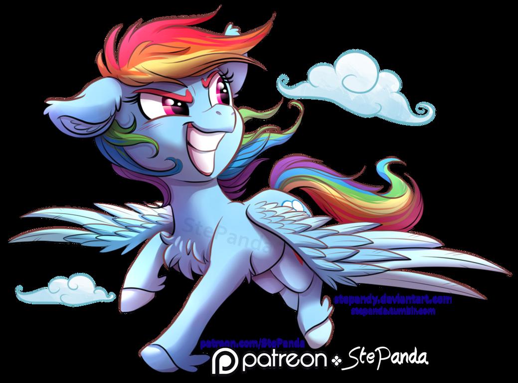 Rainbow Dash by StePandy