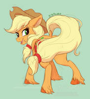 <b>Applejack Sketch</b><br><i>StePandy</i>
