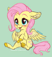 <b>FlutterShy Sketch</b><br><i>StePandy</i>
