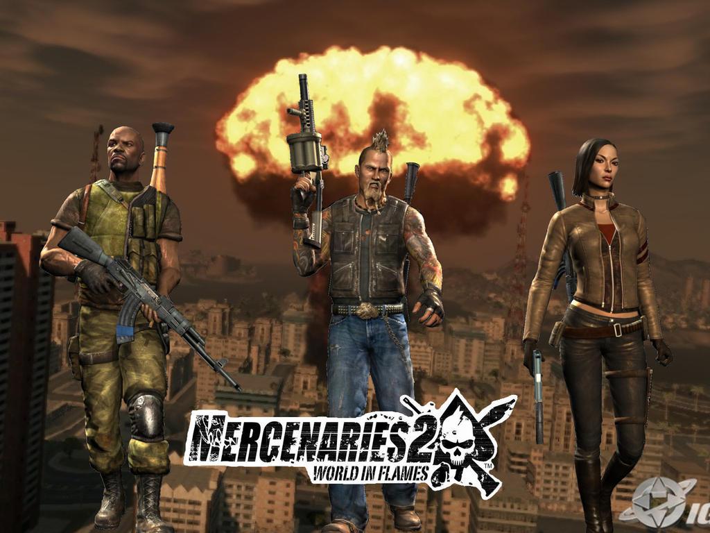 Скачать Игру Mercenaries 2 Через Торрент - фото 11