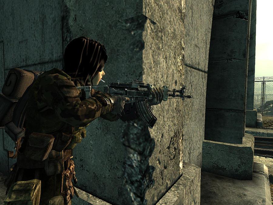 Fallout 3: Akema 16 by cyborgakadjmoose