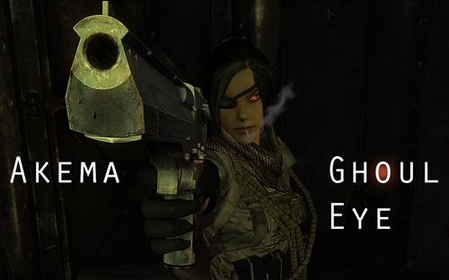 Akema Ghoul Eye Banner by cyborgakadjmoose