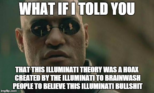 mocking conspiracy theories by The-Hylian-Metalhead