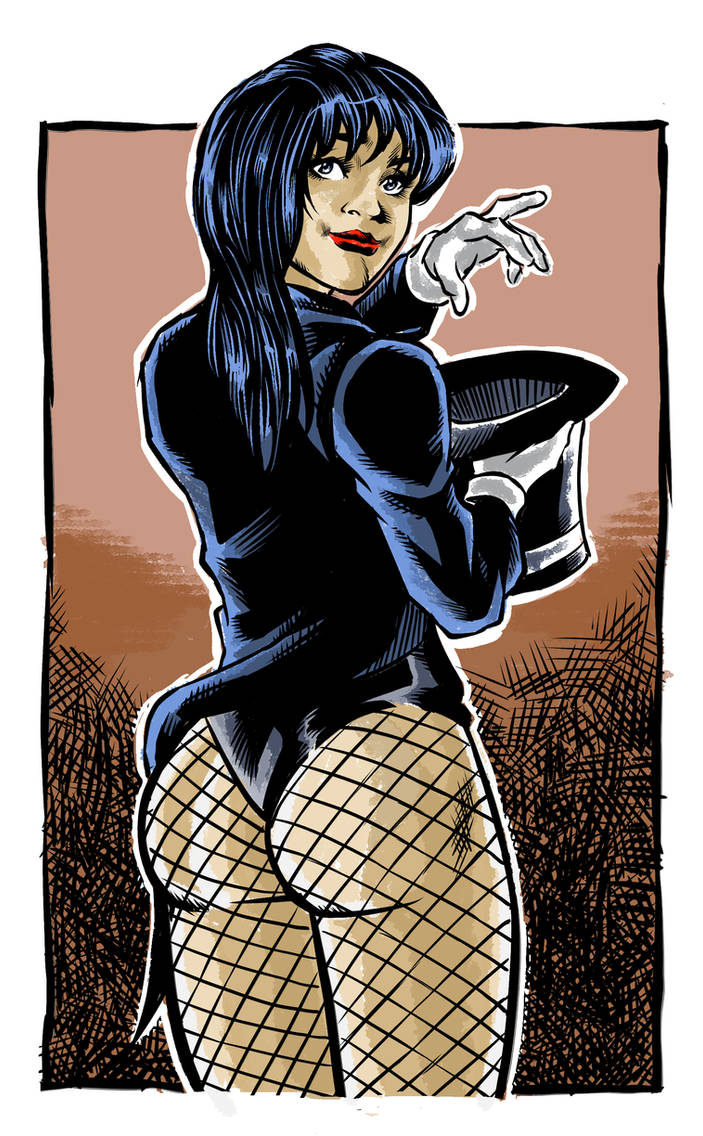 Zatanna Sketch colors by MarcelTheSouza