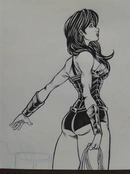 Unfinished Wonder Woman