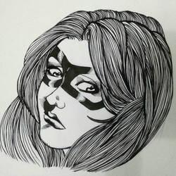 A Generic Heroine face