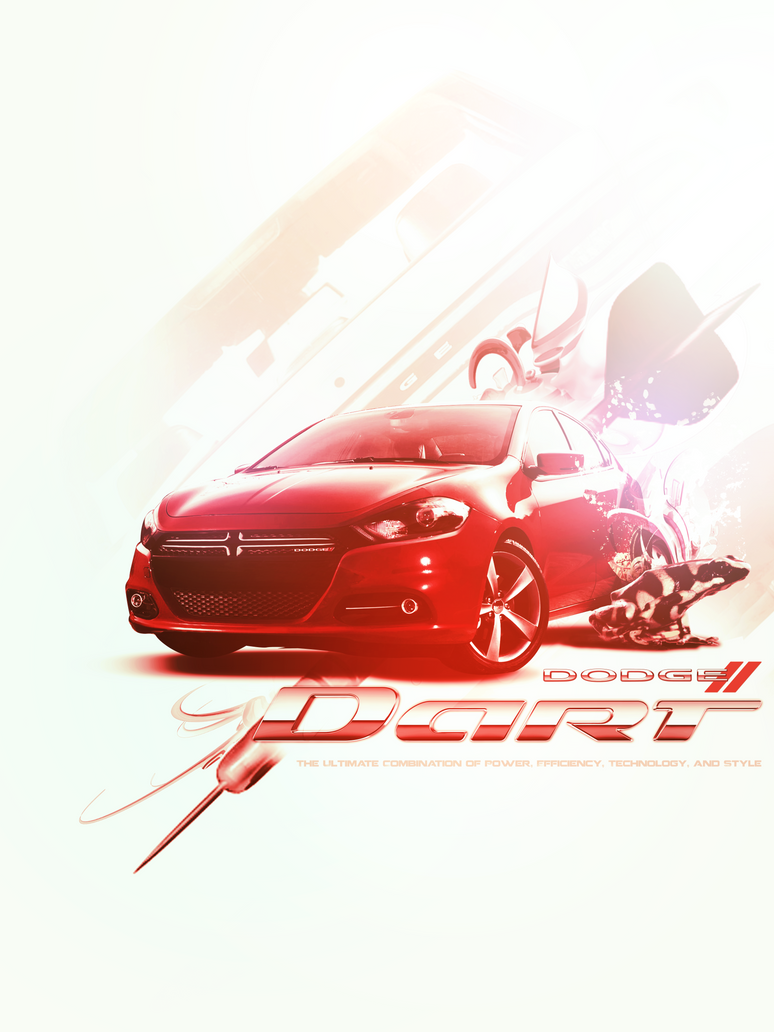 Dodge Dart Collage Ad by ChoLLo