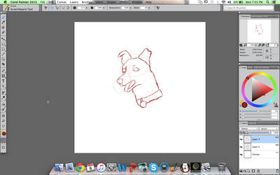 Can you Guess the Realistic Cartoon Dog? WIP #1 by KoiCatCreations