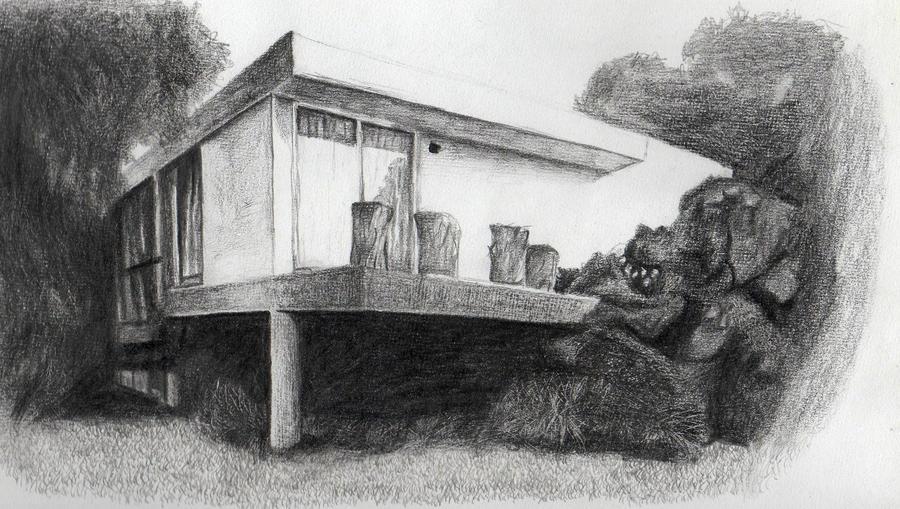 Casa lapiz by grocar on deviantart - Casas dibujadas a lapiz ...