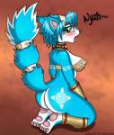 Blue Fox Girl