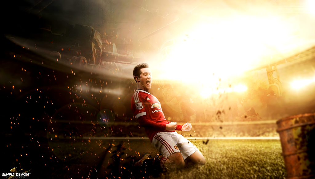 Ander Herrera Wallpaper: Ander Herrera Wallpaper 2016 By Workoutf On DeviantArt