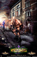 WWE WRESTLEMANIA 34 Poster Goldberg Vs Undertaker by workoutf