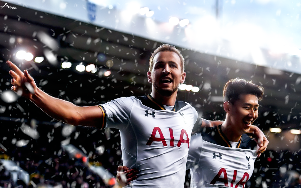 Harry Kane And Son Retouch 2017 By Workoutf On DeviantArt