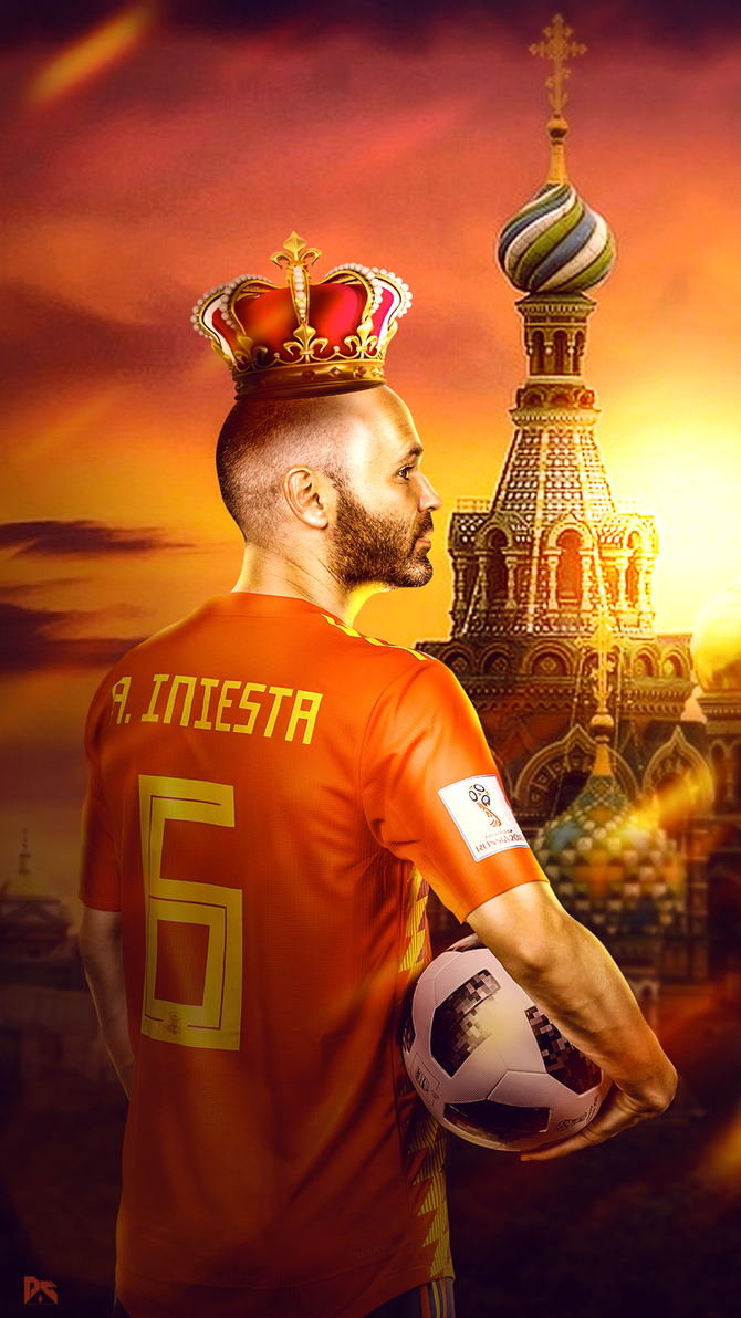 Andres Iniesta  Wallpaper by workoutf