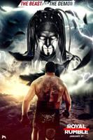 WWE Royal Rumble 2019 Poster Lesnar Vs Balor by workoutf
