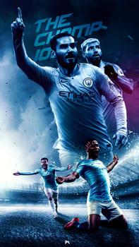 Manchester City Premier league Champions 2019
