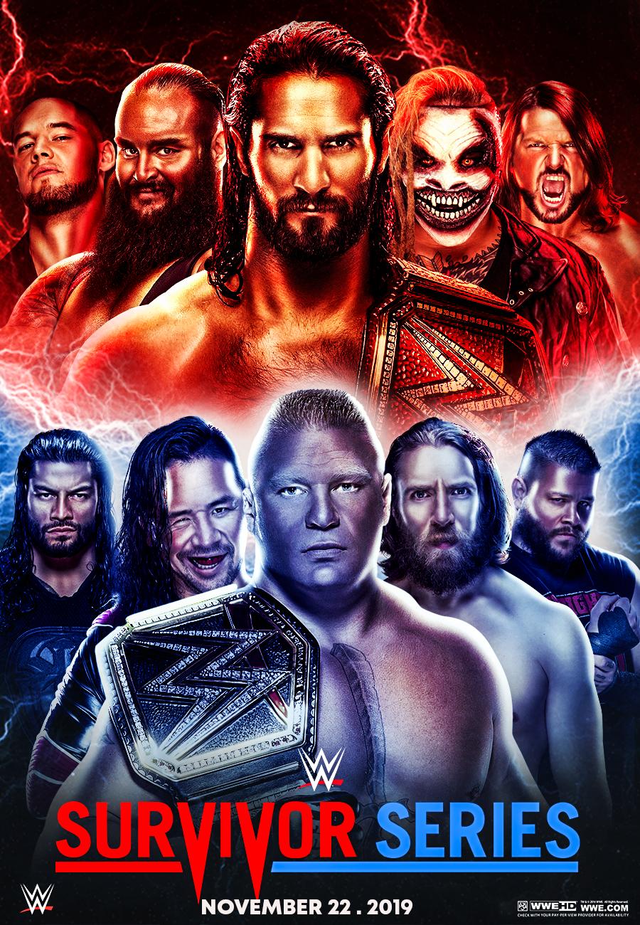 WWE Survivor Series 11th November 2019 720p HDRip x264 2.3GB