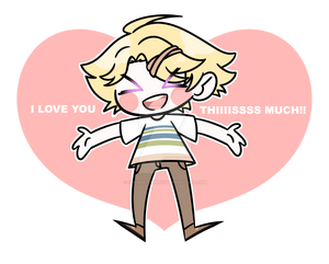 I love you thiiiiisssss much!!! Yoosung