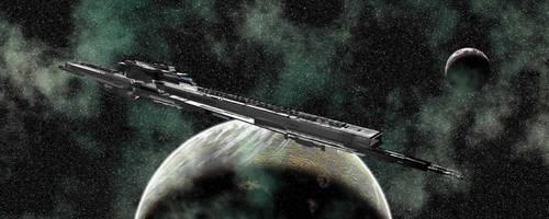 Zhuyin Missile Battleship by shayhurs