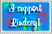I support Lindsey Stamp by Sezfox