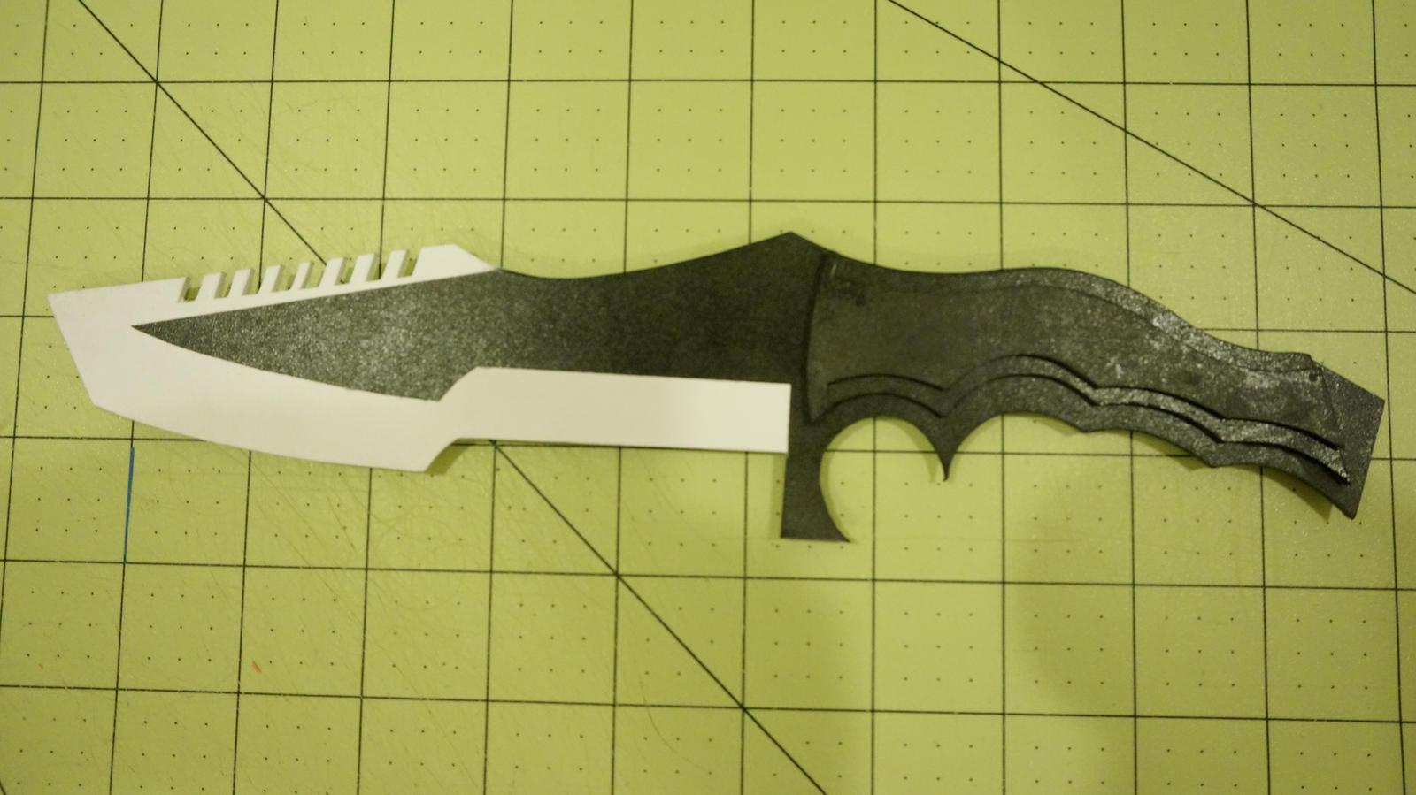 Как сделать нож из кс го