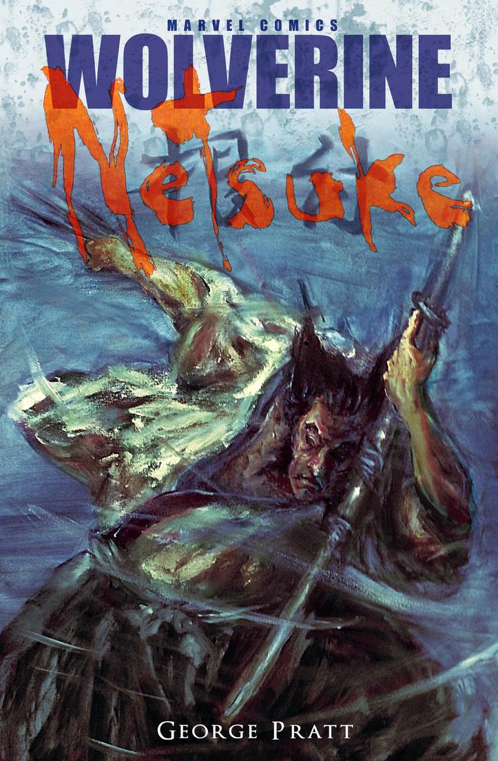 Wolverine - Netsuke by Sean-Devariant