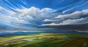 Cloudscape by LaurensSpruit