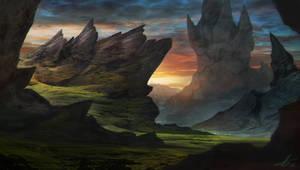 Barren Isle by LaurensSpruit