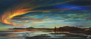 Fire In The Sky by LaurensSpruit
