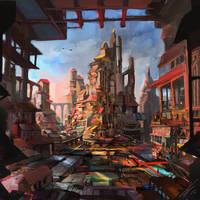 Favela by LaurensSpruit