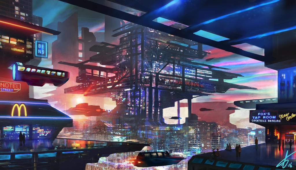 Retro Future by LaurensSpruit