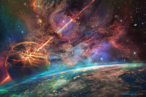 Intergalactic Warfare by LaurensSpruit