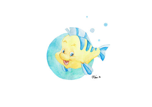 Disney sidekicks: Flounder