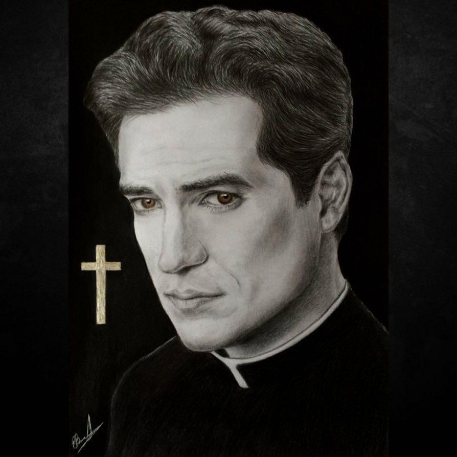 Exorcist Tv show (father Thomas) by EivydasART