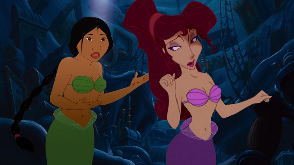 Can look Meg and ariel nude think, that