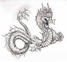 Orient Dragon by PictoShaman