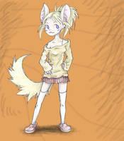 Catgirl3 by PictoShaman