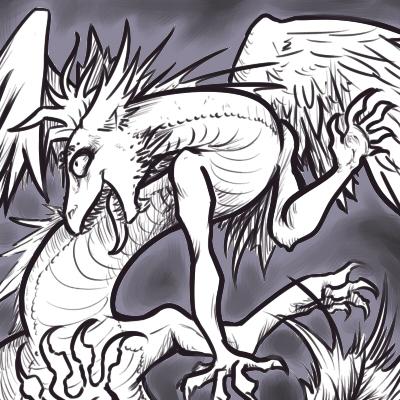 White Dragon by PictoShaman