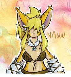 Nyasuu by PictoShaman