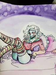 Zombie girl by PictoShaman