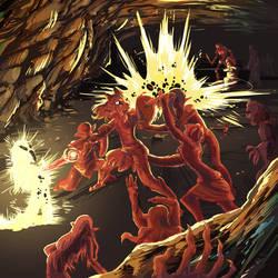 Aravi Under Attack by PictoShaman
