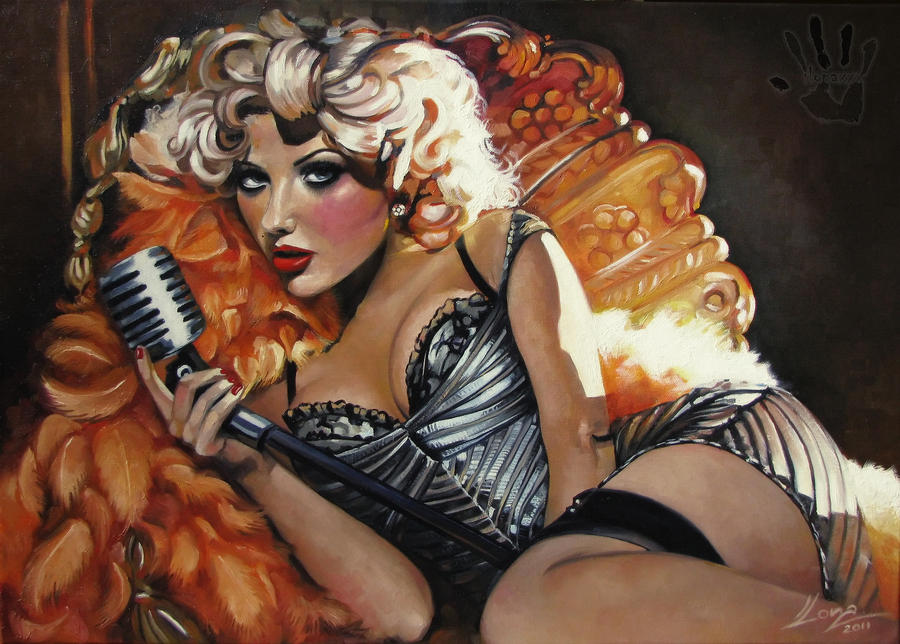 Christina Aguilera by IlonaPankevich