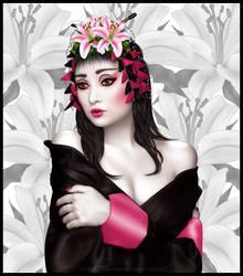 Geisha Girl by VooDoo4u2nv