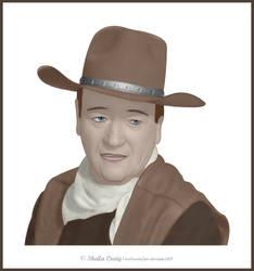 John Wayne by VooDoo4u2nv