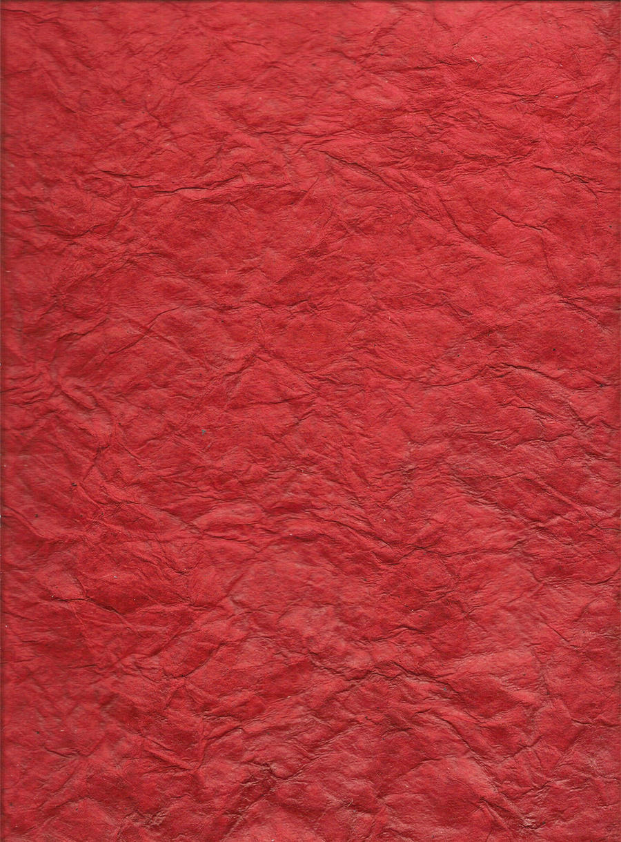 red wrinkled paper by TonomuraBix