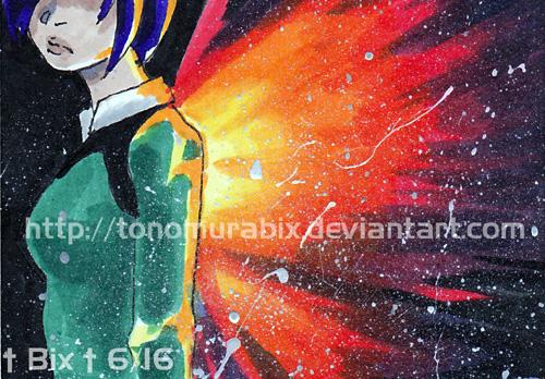 ACEO Touka by TonomuraBix