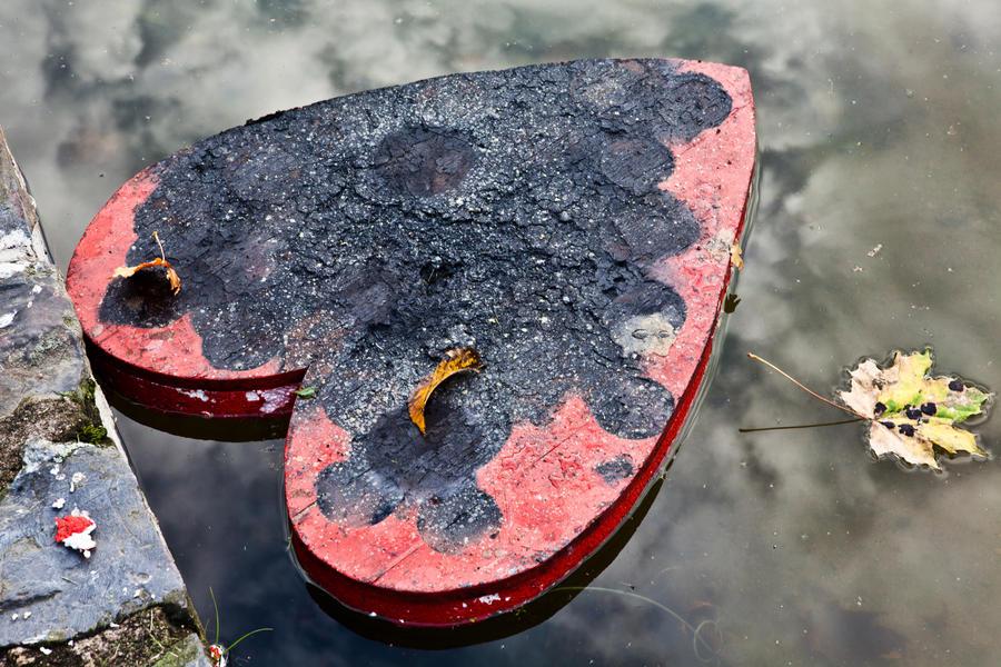 Burnt heart
