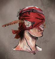 Iorveth portrait by Nifriel